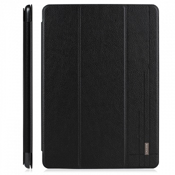 Чехол USAMS Starry Sky Series for iPad Air Smart Tri-fold Leather Cover Black - ITMag