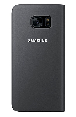 Samsung S View Cover Galaxy S7 Edge Black (EF-CG935PBEGRU) - ITMag