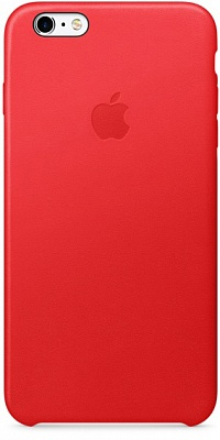 Apple iPhone 6s Plus Leather Case - PRODUCT(RED) MKXG2 - ITMag