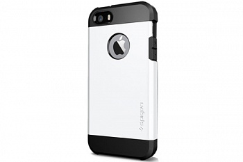 Пластиковая накладка SGP iPhone 5S/5 Case Tough Armor Series Smooth White (SGP10493) - ITMag