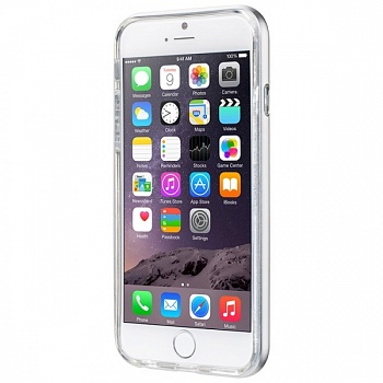 Бампер LAUT EXO-FRAME Aluminium bampers для iPhone 6/6S - Silver (LAUT_IP6_EX_SL) - ITMag