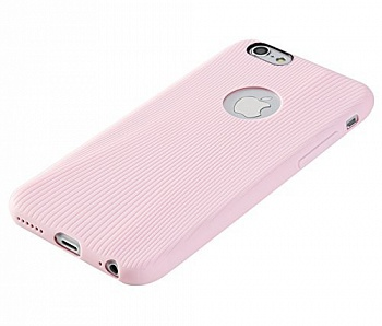 "TPU чехол Rock Melody Series для Apple iPhone 6/6S (4.7"") (Розовый / Pink) - ITMag"