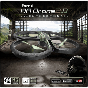 Parrot AR. Drone 2.0 Elite Edition (Jungle) - ITMag