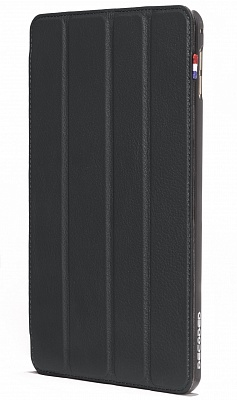 Чехол Decoded Leather Slim Cover для iPad mini 4 - Black (D5IPAM4SC1BK) - ITMag