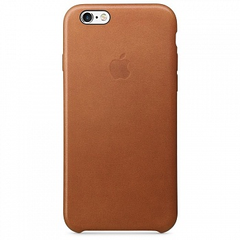 Apple iPhone 6s Leather Case - Saddle Brown MKXT2 - ITMag