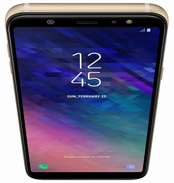 Samsung Galaxy A6+ 3/32GB Gold UA - ITMag