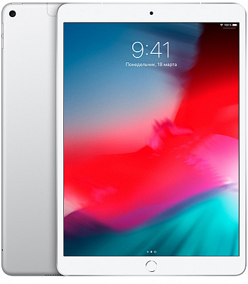 Apple iPad Air 10.5 Wi-Fi + Cellular 64GB Silver (MV0E2) - ITMag