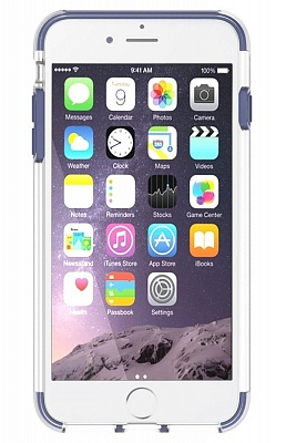 Чехол Baseus Guards Case For iPhone 7 Dark blue (ARAPIPH7-YS15) - ITMag