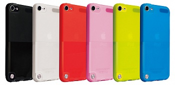 Чехол-накладка Ozaki O!coat Wardrobe Red for iPod touch 5G (OC610RD) - ITMag