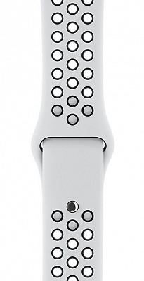 Apple Watch Nike+ Series 3 (GPS + Cellular) 38mm Silver Aluminum w. Pure Platinum/BlackSport B. (MQL52) - ITMag