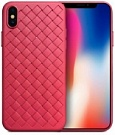 "TPU чехол SKYQI для Apple iPhone X (5.8"") (Красный) - ITMag"
