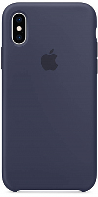 Apple iPhone XS Silicone Case - Midnight Blue (MRW92) - ITMag