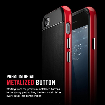"Чехол SGP Case Neo Hybrid Series Dante Red for iPhone 6/6S (4.7"") (SGP11032) - ITMag"