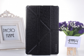 Чехол KLX Slim Wake Sleep Leather Case Transformer Stand for iPad mini Retina / iPad mini - Black - ITMag