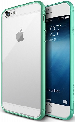 Verus Crystal Mixx Bumber case for iPhone 6/6S (Mint) - ITMag