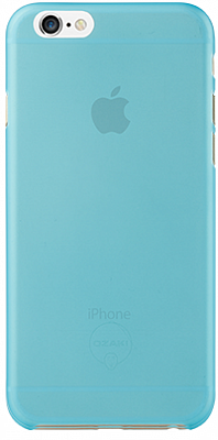 Ozaki O!coat 0.3 Jelly Cyan for iPhone 6/6S (OC555CY) - ITMag