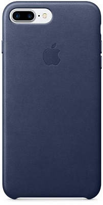 Apple iPhone 7 Plus Leather Case - Midnight Blue MMYG2 - ITMag