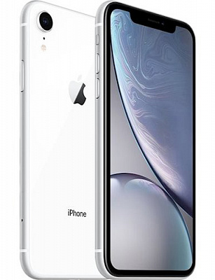 Apple iPhone XR Dual Sim 128GB White (MT1A2) - ITMag