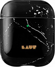 Чехол LAUT HUEX ELEMENTS for AirPods Black Mramor (L_AP_HXE_MB) - ITMag