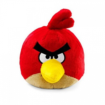 Игрушка Angry Birds Red Bird with Sound  8 дюймов - ITMag
