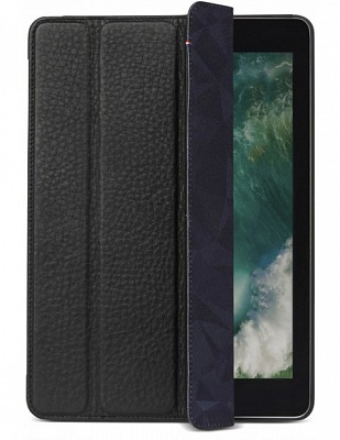 Чехол Decoded Leather Slim Cover для iPad (2017) - Black (D7IPASC1BK) - ITMag