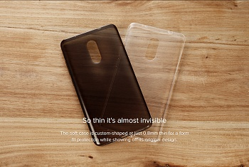 Xiaomi Soft Case for Redmi Note 4X Black - ITMag