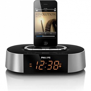Philips Clock Radio for iPod and iPhone (AJ7030D) - ITMag
