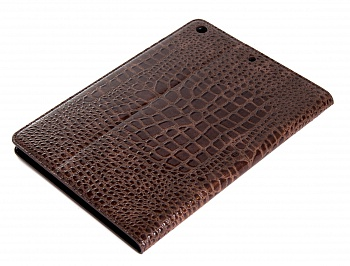Чехол EGGO Crocodile для iPad Air (Коричневый) - ITMag
