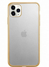 j-CASE TPU Fashion Chaser matte for iPhone 11 Pro Gold - ITMag