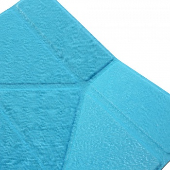 Чехол EGGO Tri-fold Cross Pattern Leather Case for iPad Air Blue - ITMag