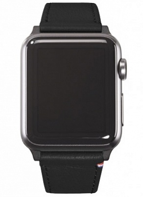 Ремешок Decoded Nappa для Apple Watch 38 mm - Black (D5AW38SP1BK) - ITMag
