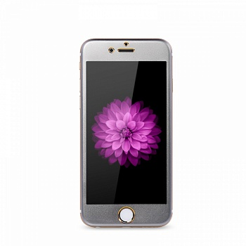Защитное cтекло Remax Metal Tempered Glass Space Gray для Apple iPhone 6/6S - ITMag