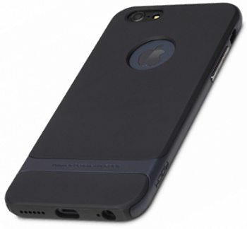 "TPU+PC чехол Rock Royce Series для Apple iPhone 6 Plus/6S Plus (5.5"") (Черный / синий) - ITMag"