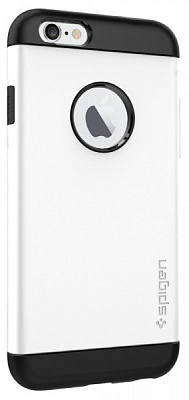 "Чехол SGP Case Slim Armor Series Shimmery White for iPhone 6/6S (4.7"") (SGP10957) - ITMag"