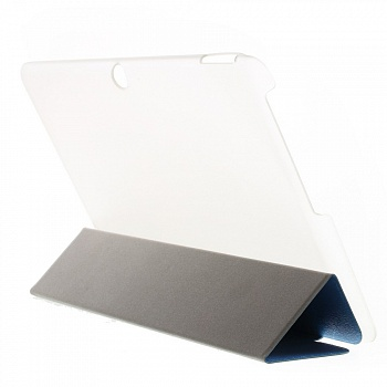 Чехол EGGO Lines Texture Leather Flip Case Stand для Acer Iconia Tab 10 A3-A20 (Синий / Blue) - ITMag