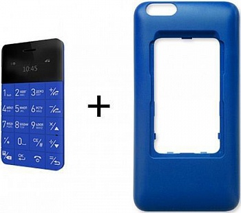 ELARI CardPhone Case for iPhone 6 Plus Blue (LR-CS6PL-BL) - ITMag