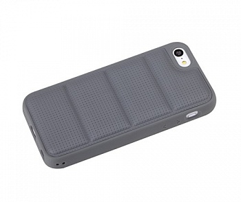 TPU чехол ROCK Matts Series для Apple iPhone 5/5S (Серый / Grey) - ITMag
