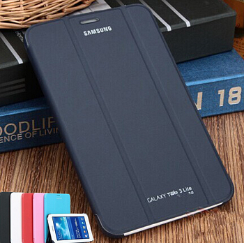 Чехол Samsung Book Cover для Galaxy Tab 3 Lite T110 Black - ITMag
