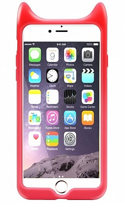 Чехол Baseus Devil Baby Case For iPhone 7 Red (ARAPIPH7-XM09) - ITMag