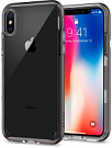 Spigen Case Neo Hybrid Crystal for iPhone X Gunmetal (057CS22172) - ITMag