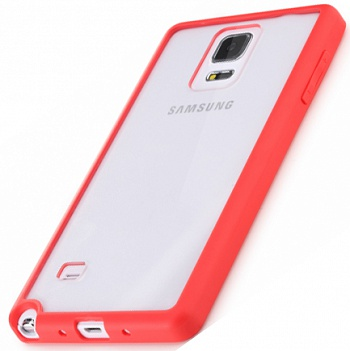 TPU+PC чехол Rock Enchanting Series для Samsung N910S Galaxy Note 4 (Красный / Red) - ITMag