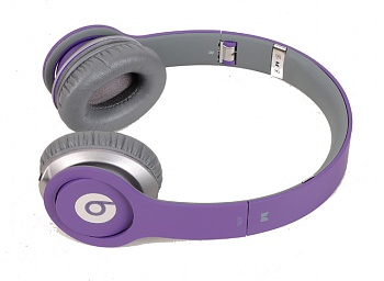 Monster Beats by Dr. Dre Solo HD Purple Original - ITMag