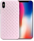 "TPU чехол SKYQI для Apple iPhone X (5.8"") (Розовый) - ITMag"