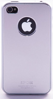 SGP iPhone 4 Case Ultra Thin Matte Series (Satin Silver) - ITMag