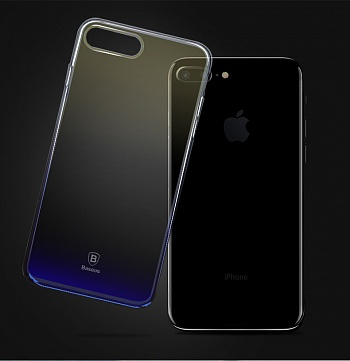 Чехол Basesus Glaze Case для iPhone7 Black (WIAPIPH7-GC01) - ITMag