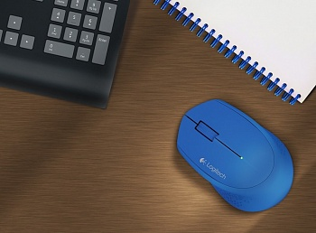 Logitech Wireless Mouse M280 Blue (910-004294) - ITMag