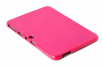 Чехол Crazy Horse Tri-fold Leather Folio Cover Stand Rose for Samsung Galaxy Tab 3 10.1 P5200/P5210 - ITMag