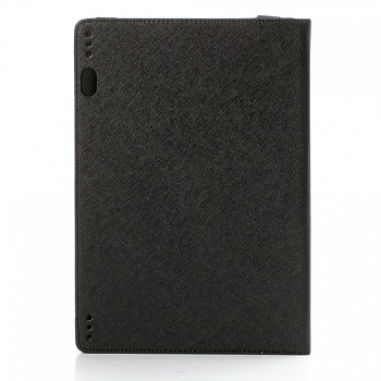 Чехол EGGO Tri-fold Cross Pattern Leather Case для Lenovo IdeaTab S6000 (Черный / Black) - ITMag