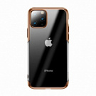 Baseus Shining Case for iPhone 11 Pro Gold (ARAPIPH58S-MD0V) - ITMag