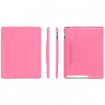 Чехол Griffin IntelliCase for iPad 2, iPad 3, & iPad (4th gen.) Pink - ITMag